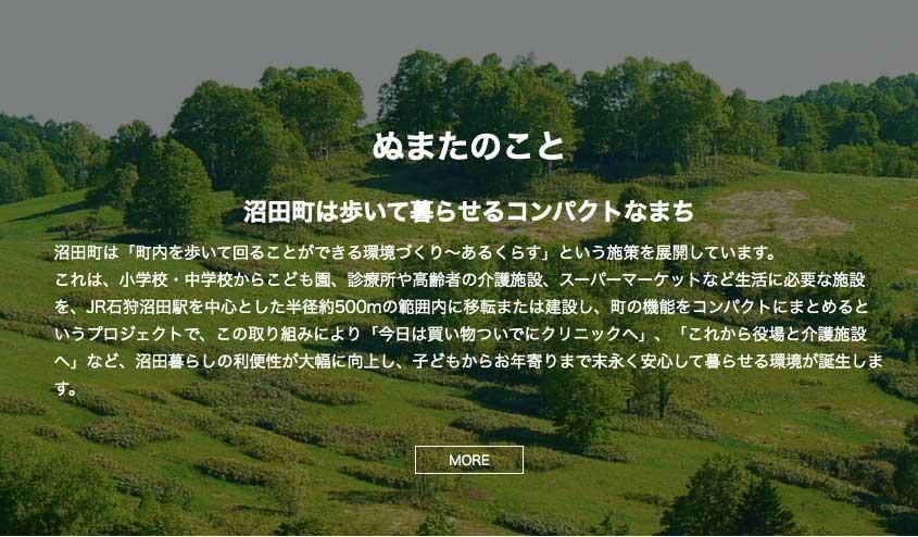北海道沼田町サイトTOP